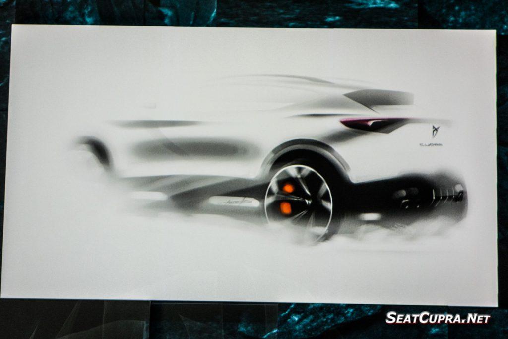 CUPRA Coupe concept teaser
