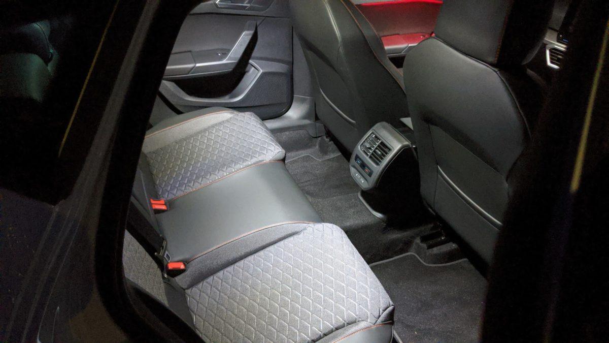 SEAT Leon interior LED Lighting
