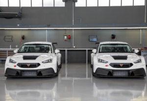2 CUPRA-Leon-Competicion cars