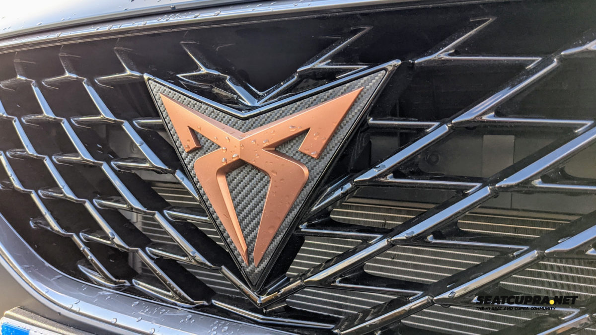 CUPRA Formentor front grille