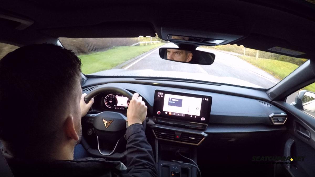 CUPRA Formentor driving