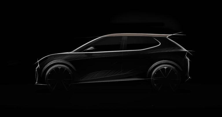 Sketch of SEAT's future urban electric car