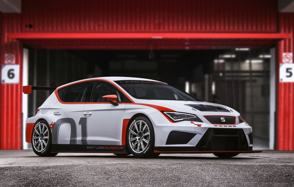 מעולה  SEAT LEON CUP RACER ALL SET FOR 2016 SEASON BH-32