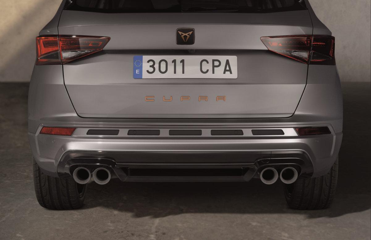 CUPRA ATECA LIMITED EDITION Akrapovic exhausts