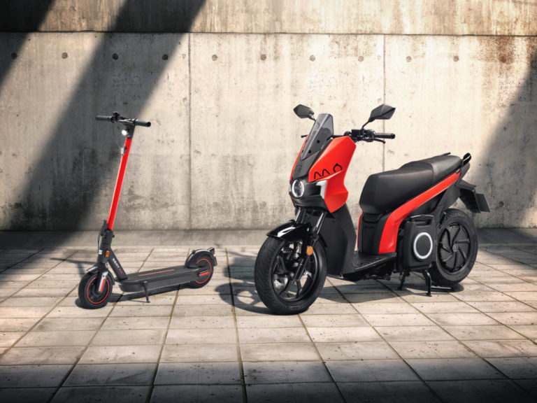 SEAT's new scooters