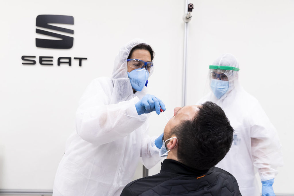SEAT Covid tests