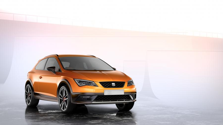 SEAT Leon Cross Sport Show Car