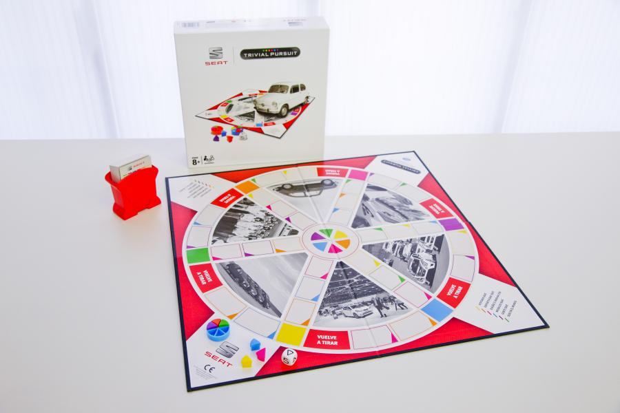 SEAT, world's first company in the automotive sector with its own Trivial Pursuit game