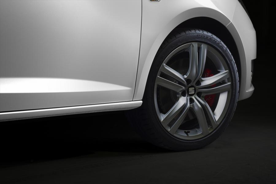SEAT Ibiza CUPRA, exterior, static shot, detail