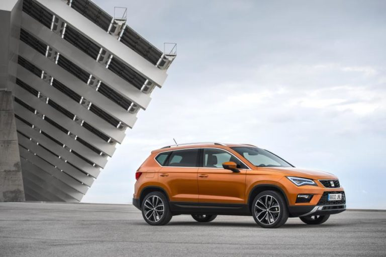 Euro NCAP five-star rating for the SEAT Ateca