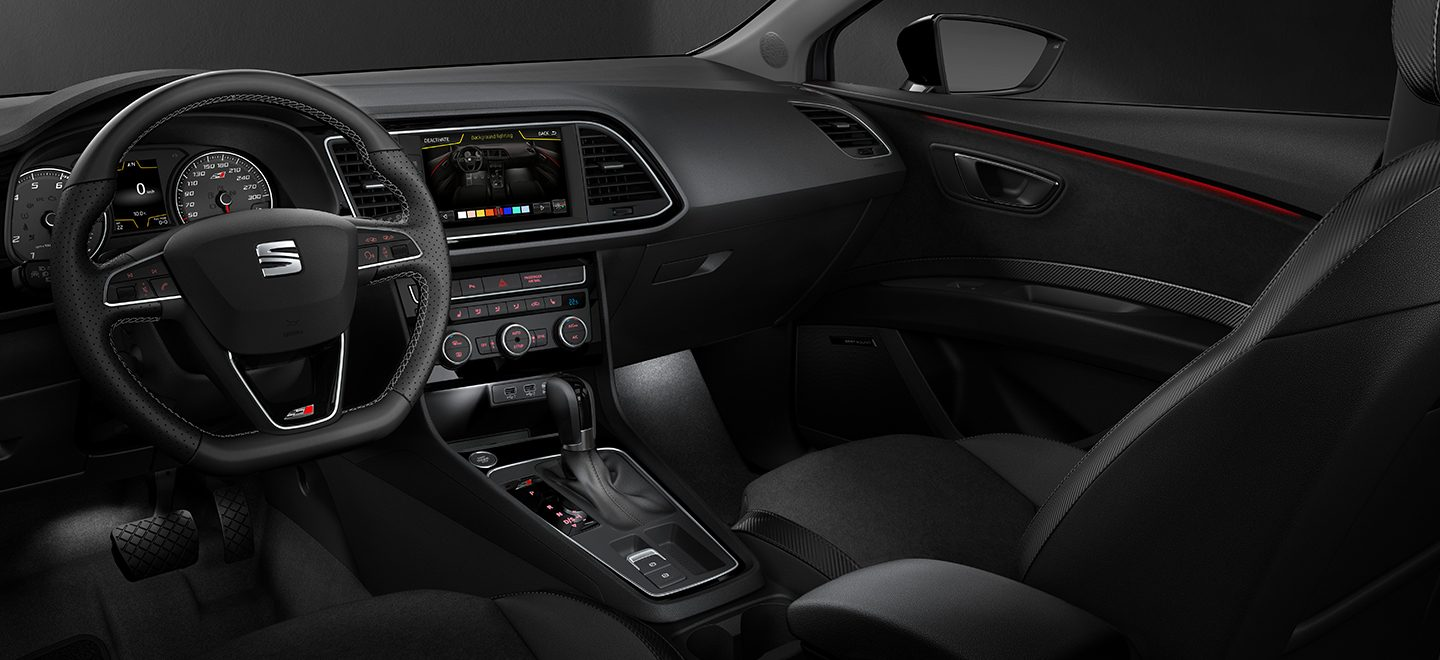 Leon cupra 300 2017 uk pricing and details added for Interieur seat ibiza cupra