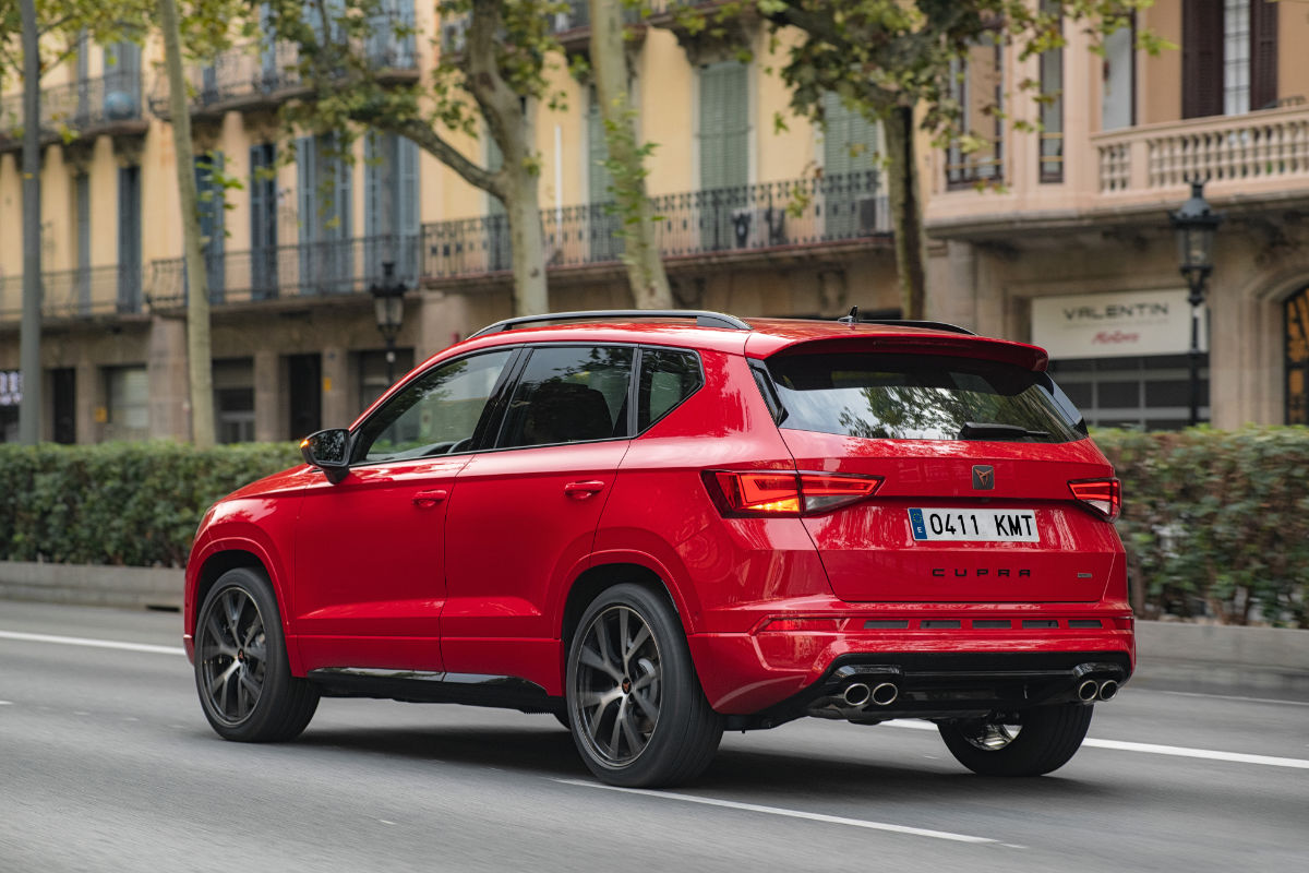 cupra ateca review with videos the first car from seat. Black Bedroom Furniture Sets. Home Design Ideas