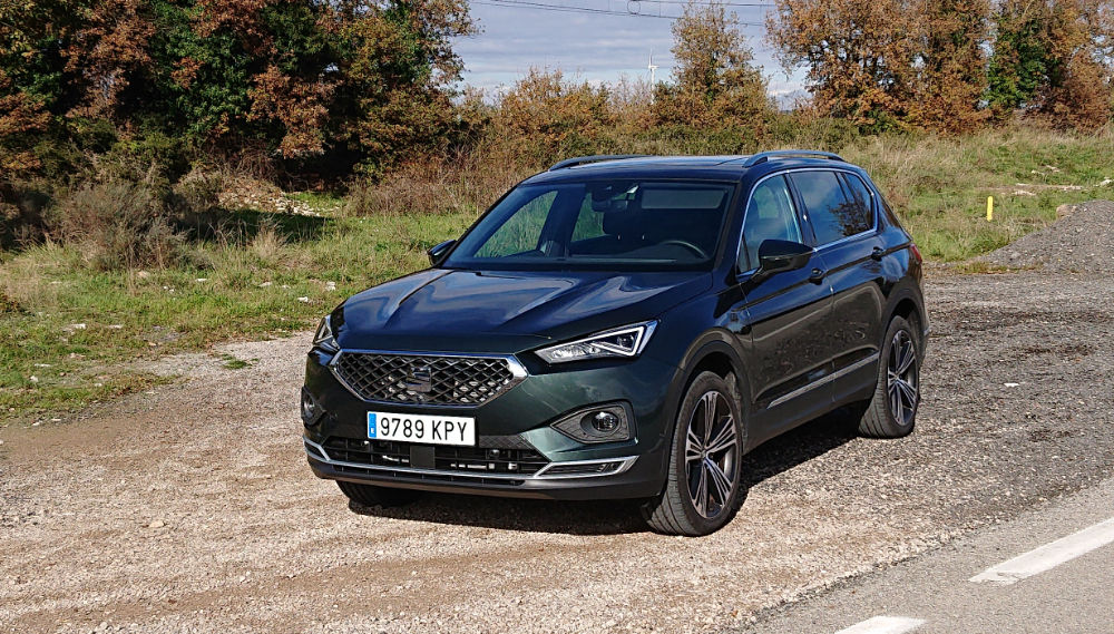 new seat tarraco road test review - seatcupra